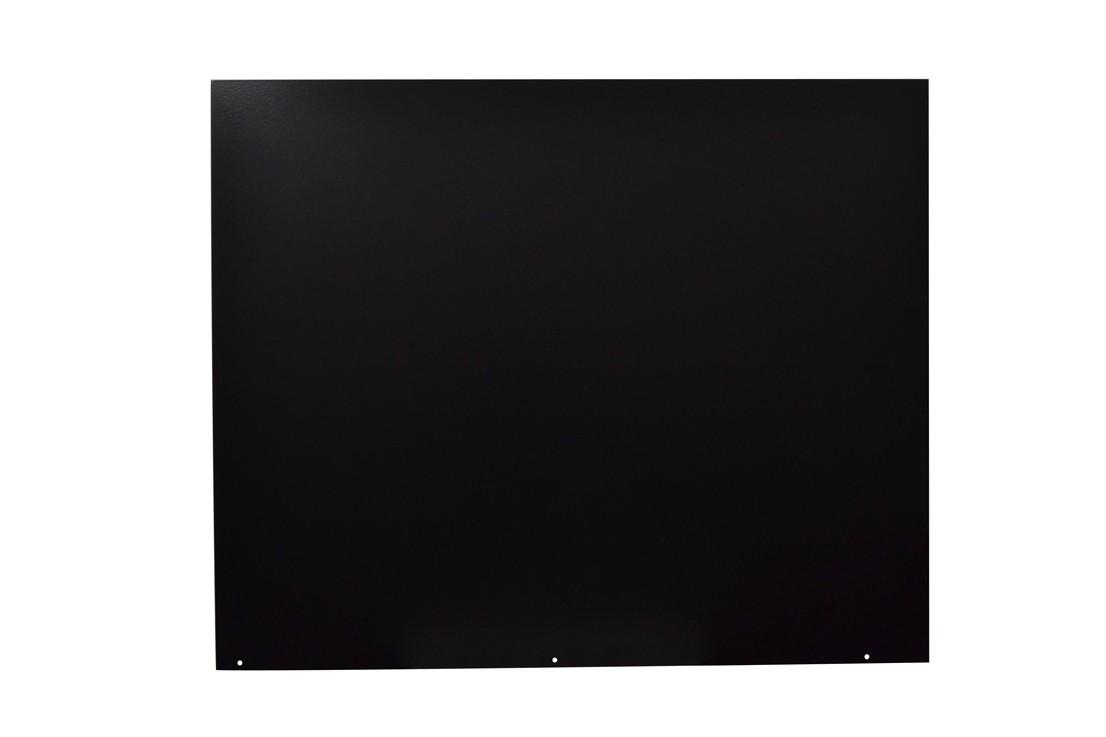 Funkenschutzplatte / Bodenplatte Stahl grau / schwarz 100x120cm 4-Eck Bild 2