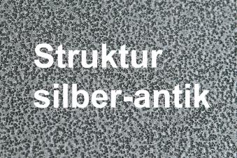 Funkenschutzplatte / Bodenplatte Lienbacher silber-antik 4-Eck 80x80cm Bild 2