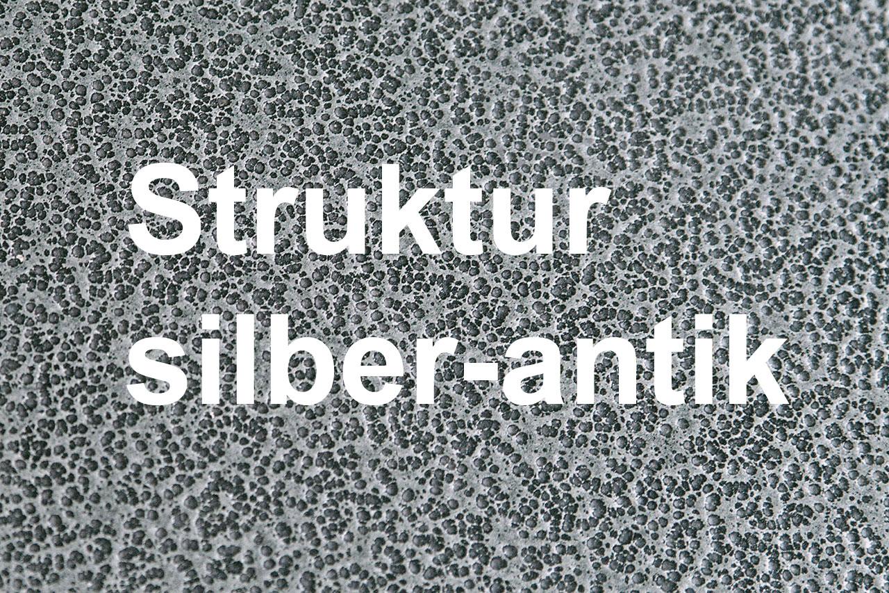 Funkenschutzplatte / Bodenplatte Lienbacher silberf. Tropfen 125x125cm Bild 2