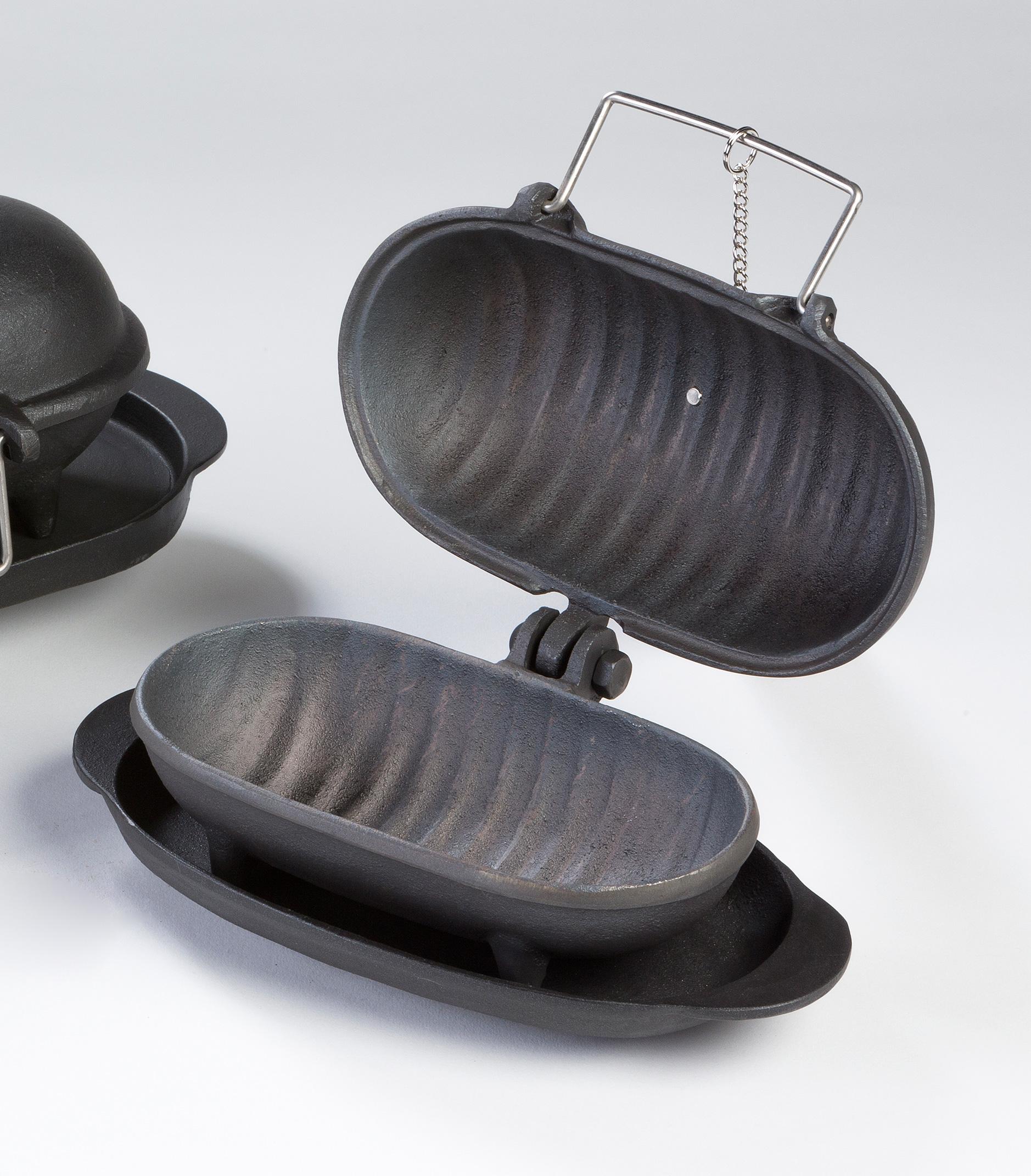 Gusseisen Back/Kochaufsatz Thera Fine cooker S Globe-fire 20x10x12 Bild 1