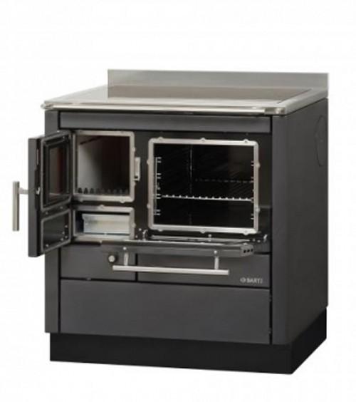 Küchenherd Bartz HKC 80/60 Ceran anthrazit SF Ans. rechts Bild 1