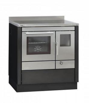 Küchenherd Bartz HKC 80/60 Stahl anthr./Edelstahl SF Ans. links Bild 1