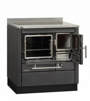 Küchenherd Bartz HKC 80/60 Stahl anthrazit SF Ans. links Bild 1