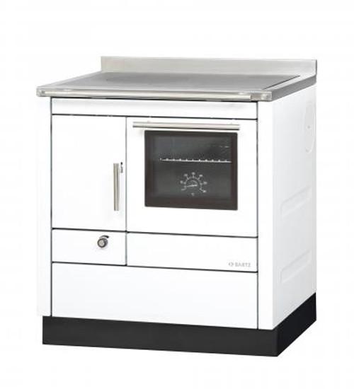 Küchenherd Bartz HKC 80/60 Stahl weiß Ans. rechts Bild 1