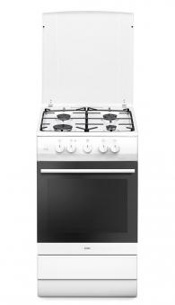 Gasherd Erdgas / Propangas Amica SHGG 11559 W weiß 4 Kochstellen Bild 1
