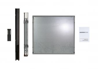 Abstandsverbinder Haas+Sohn Holz- Kohle und Ölherde anthrazit 55mm Bild 1