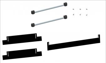 Sockelerhöhung mit Blenden für Haas+Sohn Herd HSD 40 bis 91cm Bild 1