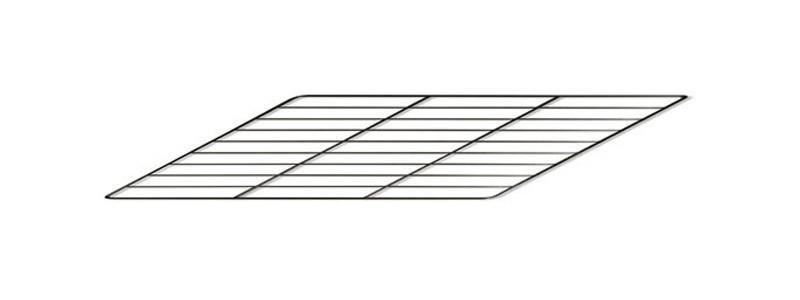 Backrost / Grillrost für Bartz Herd HKR 60/60 25,9x35cm Bild 1