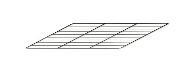 Backrost / Grillrost für La Nordica Herd Rosa / Mamy / Sovrana 29,5x39 Bild 1