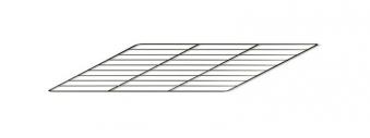 Backrost / Grillrost für La Nordica Herd Suprema, America 41x42,7cm Bild 1