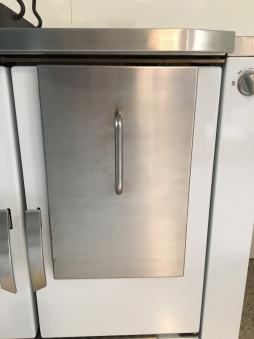 Wamsler ISO-Panel für Holzherd W2-50 / W2-90 Edelstahl Bild 1