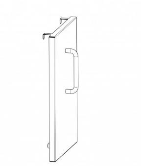 Wamsler ISO-Panel für Holzherd W2-50 / W2-90 Edelstahl Bild 2
