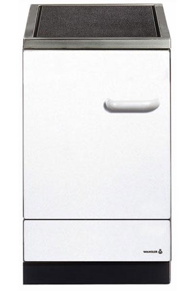 Küchenherd / Kohleherd Wamsler K155C weiß Ceran-Kochfeld Bild 1
