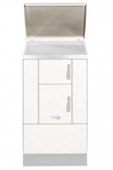 Deckel / Abdeckhaube für Wamsler Kohleherde K150 / K155 weiß
