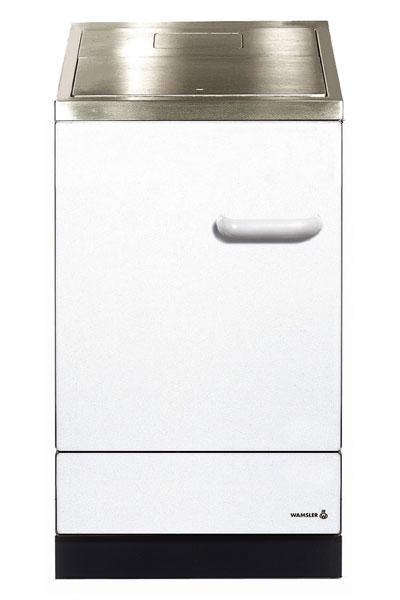 Küchenherd / Kohleherd Wamsler K155S weiß Stahlkochfeld Bild 1