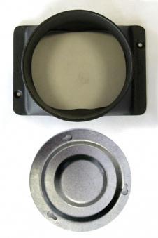 Rauchabzug Set oben 120mm Wamsler für K140 S / K144 S / 155 S / OZ444S