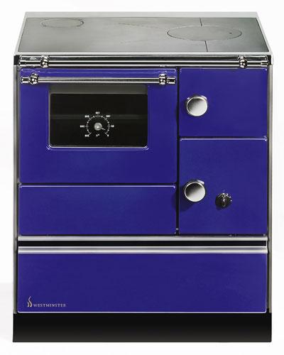 Küchenherd Westminster Wamsler K176A 70cm blau Stahl Ans. links Bild 1
