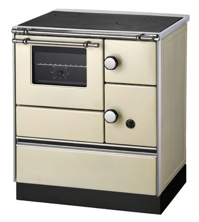 Küchenherd Westminster Wamsler K176A 70cm elfenbein Stahl Ans. links Bild 1