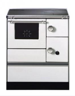 Küchenherd Westminster Wamsler K176A 70cm weiß Stahl Ans. links Bild 1