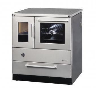 Küchenherd Kohleherd Bartz HKR 75/60 SF Stahlkochfeld Edelstahl rechts Bild 1
