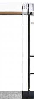 Abstandsverbinder Bartz Herd HKK / Rusti weiß 100mm