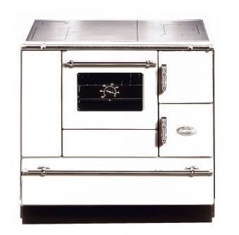 Küchenherd Wamsler K138CL Creative-Line weiß Stahlfeld Ans links Bild 1