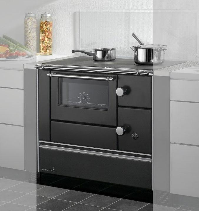 Küchenherd Westminster Wamsler K176 A 90cm schwarz Stahl Anschl. links Bild 1