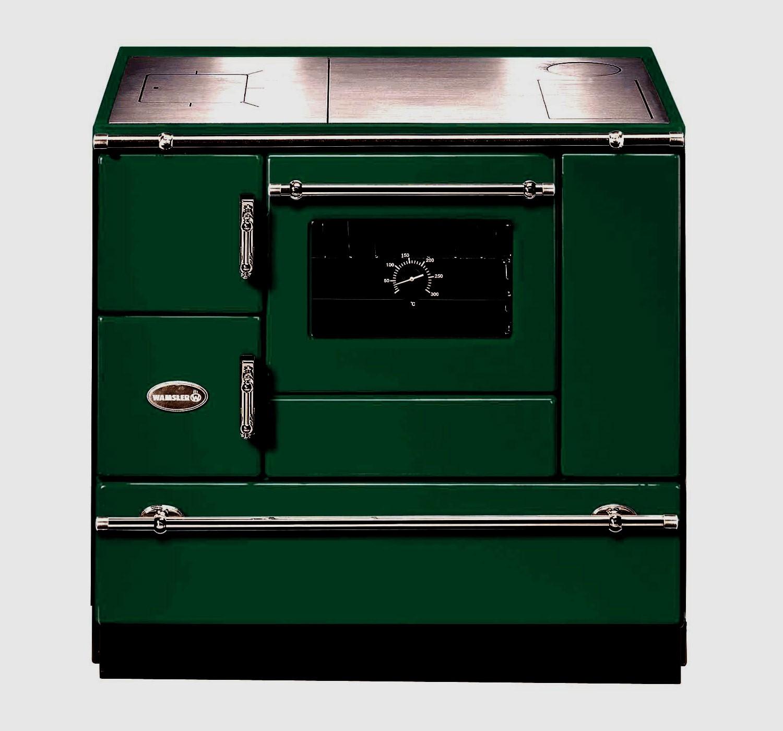 Küchenherd Wamsler K138CL Creative-Line grün Stahlfeld Ans rechts Bild 1