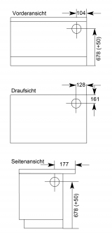 Küchenherd Wamsler K138CL Creative-Line grün Stahlfeld Ans rechts Bild 2