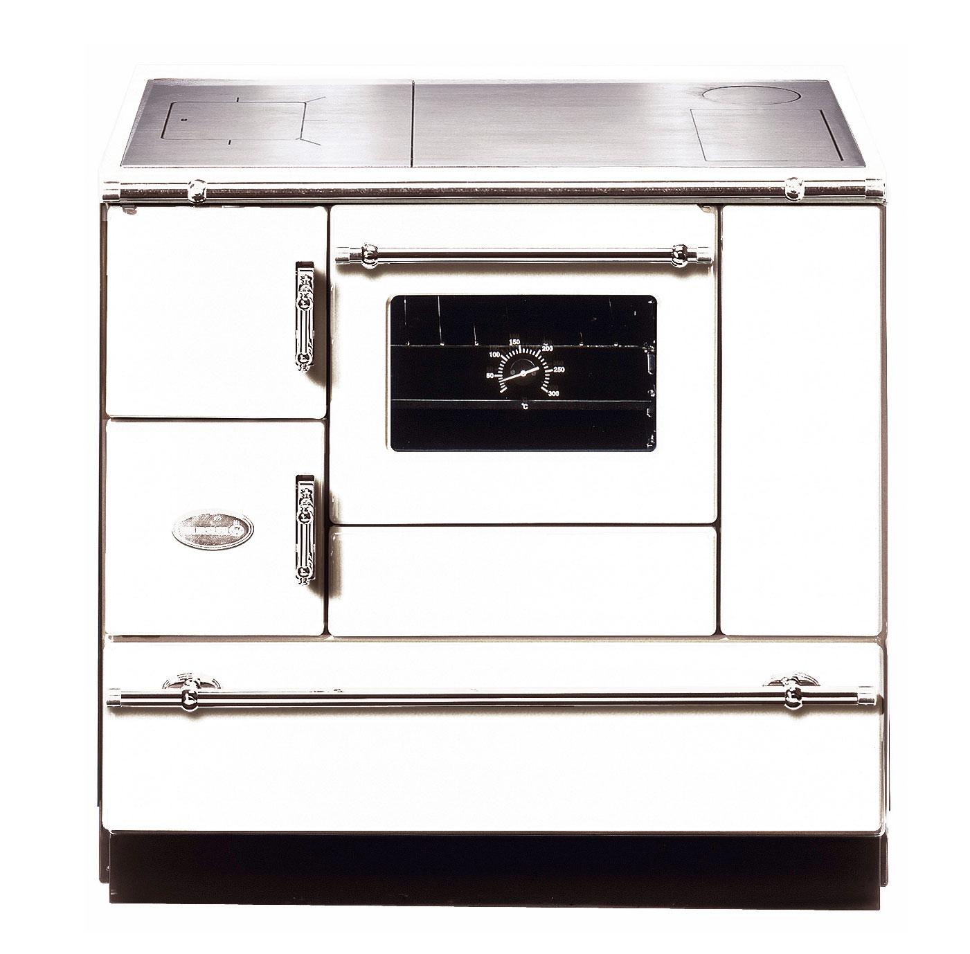 Küchenherd Wamsler K138CL Creative-Line weiß Stahlfeld Ans rechts Bild 1