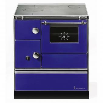 Küchenherd Westminster Wamsler K176 A 90cm blau Stahl Anschluss rechts Bild 1