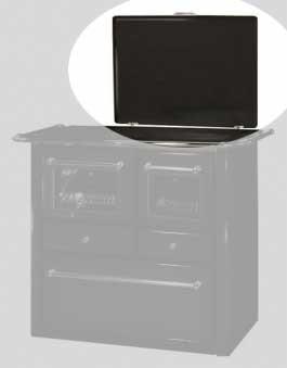 Abdeckhaube Wamsler Küchenherd Westminster K185F/A anthrazit