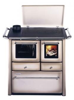 Küchenherd Westminster Wamsler K185F/A cappuccino Gussfeld Ans. links Bild 1