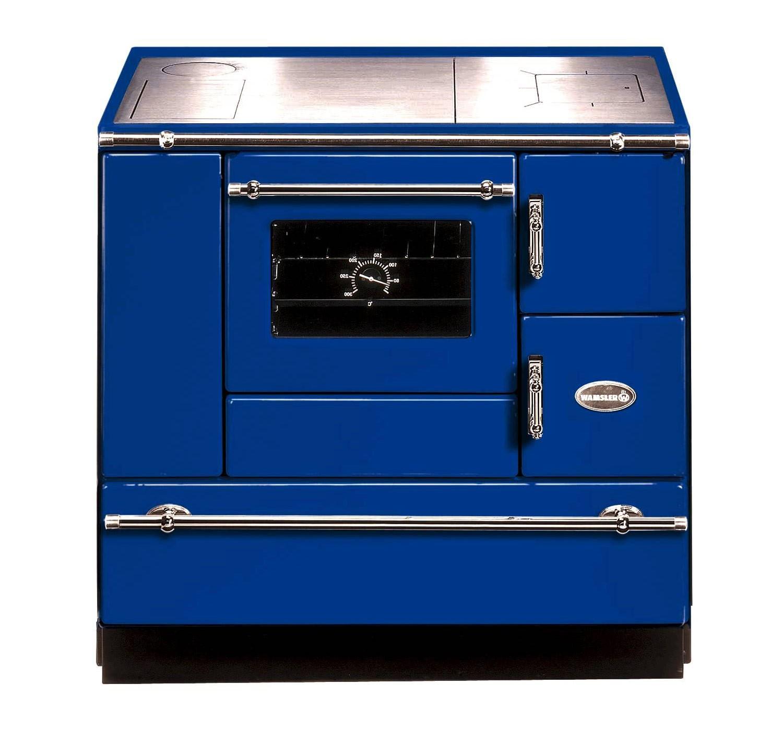 Küchenherd Wamsler K138CL Creative-Line blau Stahlfeld Ans links Bild 1