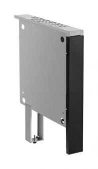 Brandschutzeinheit für Justus Festbrennstoffherd schwarz 50mm