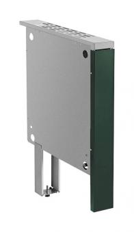 Brandschutzeinheit für Justus Festbrennstoffherd grün 50mm