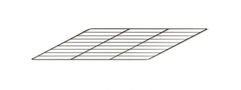 Backrost / Grillrost für La Nordica Herd Rosa / Mamy / Sovrana 29,5x39