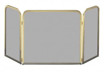 Funkenschutz - Funkenschutzglas Lienbacher Messing getönt klappbar Bild 1