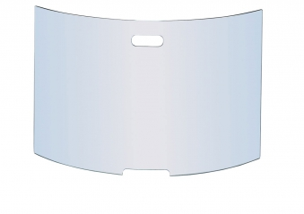 Funkenschutz - Funkenschutzglas Lienbacher gewölbt 76x50cm Bild 1