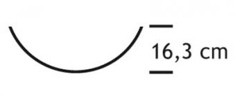 Funkenschutz - Funkenschutzglas Lienbacher gewölbt 76x50cm Bild 2