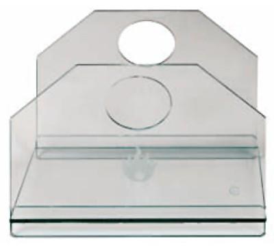 Holzkorb - Holzlege Lienbacher Glas 30x35x31cm Bild 1
