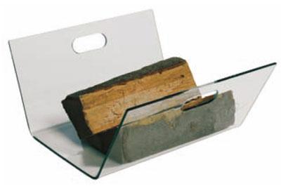 holzkorb holzlege lienbacher tempraglas 22x42x42cm bei. Black Bedroom Furniture Sets. Home Design Ideas
