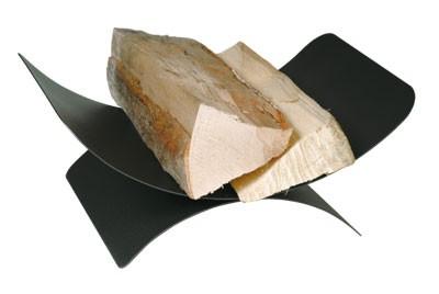 Holzkorb - Holzlege Lienbacher schwarz 45x30x17cm Bild 1