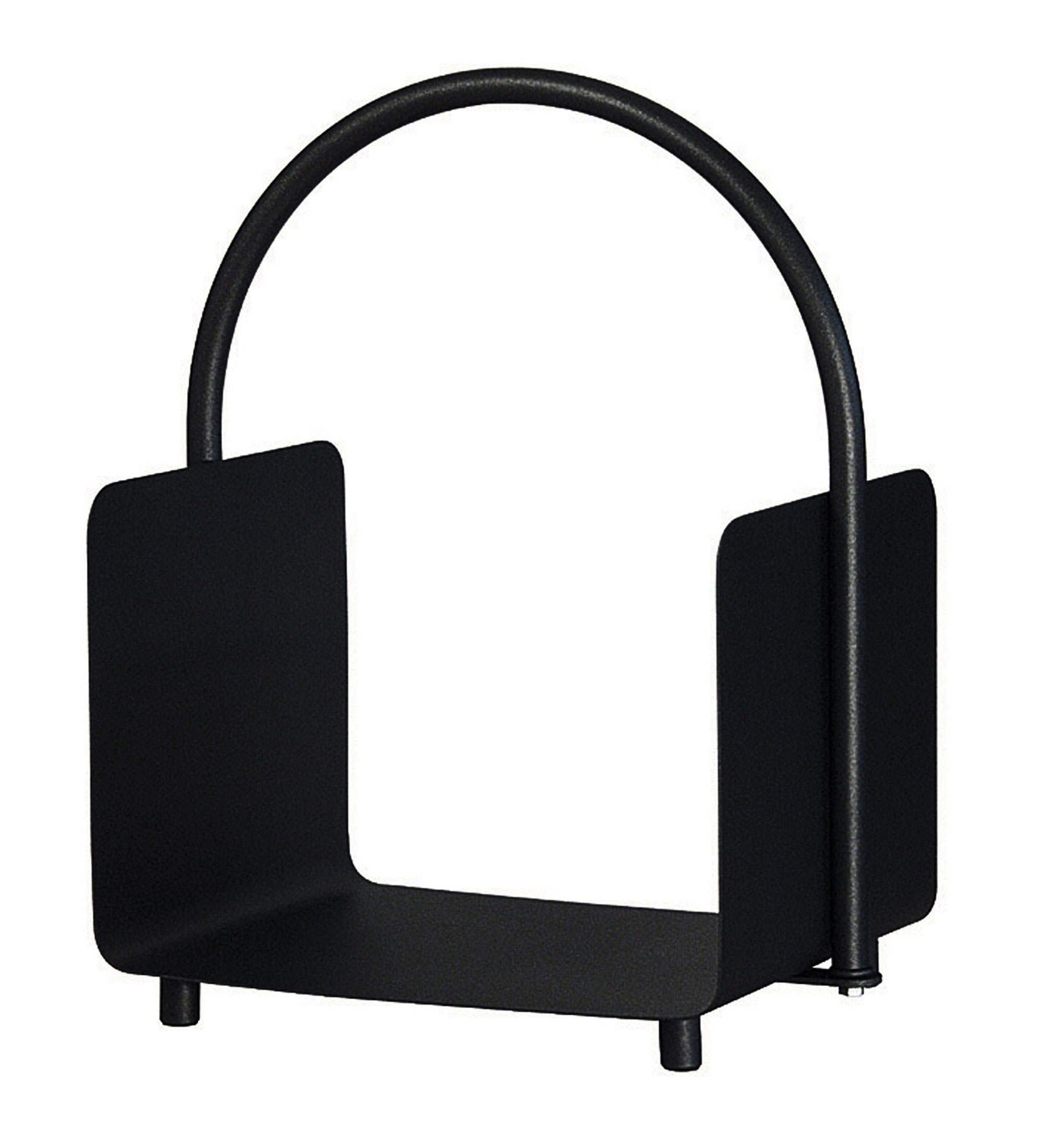 Holzkorb / Holzlege Lienbacher schwarz beschichtet 37x30x51,5cm Bild 1