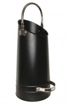Pellet Träger / Pelletkorb / Kohlenschütte Lienbacher schwarz Nickel Bild 1