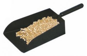 Kaminbesteck / Pelletschaufel / Schaufel Lienbacher schwarz 35cm