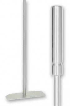 Kaminbesteck / Kaminschaber Lienbacher Edelstahl L 57cm Bild 1