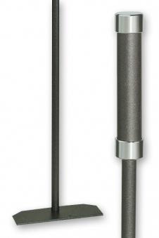 Kaminbesteck / Kaminschaber Lienbacher anthrazit Chrom L 58,5cm Bild 1