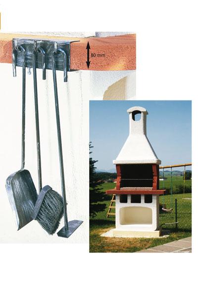 kaminzubeh r kaminbesteck grillbesteck lienbacher eisen 3tlg bei. Black Bedroom Furniture Sets. Home Design Ideas