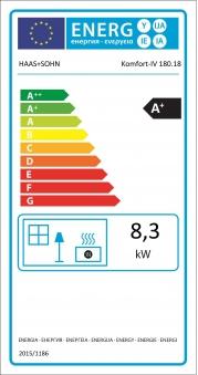 Kaminbausatz Haas+Sohn Genf-III Rainbow / Komfort-IV 180.18 schw. 8kW Bild 2